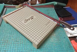 Vintage Rare Ingento Jr Paper Cutter 9 X 12 No 1136 Great Shape