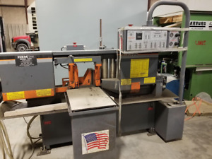 Hem 12 75 X 12 75 Horizontal Band Saw H90a 4 Year 2012 Video