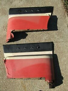 1960 1961 Ford Starliner Rear Seat Arm Rest Side Panels Driver Quality