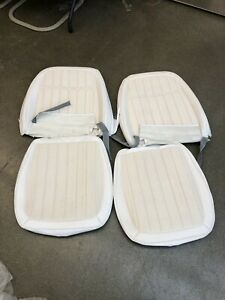 1969 Camaro Deluxe New Gm Nos Comfortweave Interior Bucket Seat Covers White
