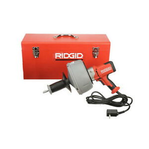 Ridgid 36013 K 45 1 Drain Cleaning Machine With C 1 c Cable With Bulk