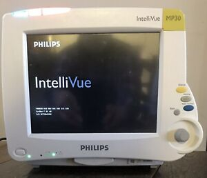 Philips Intellivue Mp30 Patient Monitor Sw rev F 01 40