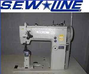 Sewline Sl 1289 New Postbed Hd Walking Foot 110 Servo Industrial Sewing Machine