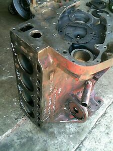 Farmall Ih 504 Gas Tractor Main Gas Engine Motor C 153 Block