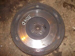 Farmall Ih 504 Diesel Tractor Engine Motor Flywheel W Starter Ring Drive Gear