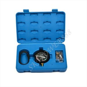 Fuel Pump Vacuum Tester Gauge Leak Carburetor Pressure Diagnostics