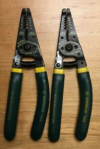 2 Greenlee 1955 10 20 Awg Pro Wire Strippers