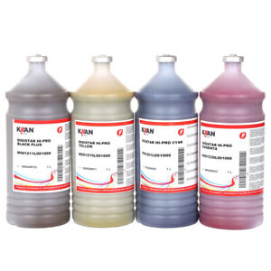 Kiian Sublimation Ink Hi Pro Set 4liters