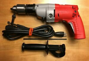Milwaukee 5370 1 1 2 Magnum Hammer Drill Made In Usa