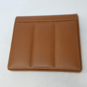 Buddy Products Roma Collection Leather Accessory And Calendar Holder Brown