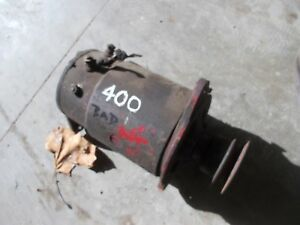 Farmall Ih 350 400 450 Gas Tractor Original 12v Generator Belt Drive Pulley