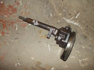 Massey Harris 22 Tractor Mh Engine Motor Oil Pump Assemble Screen