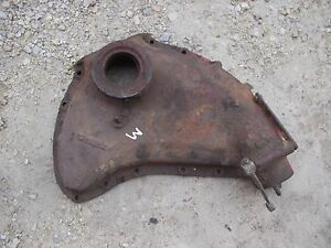 Farmall Ih M Early Super M Tractor Engine Motor Main Front Cover Panel