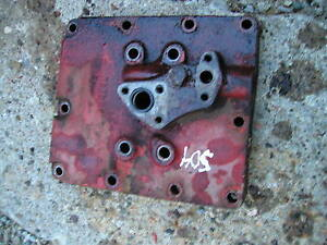Farmall 504 Rowcrop Tractor Ih Hydraulic Cover Plate For Lines To Attach To