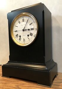 Long Duration French Precision Table Regulator Mantle Clock Sweep Second Jumel