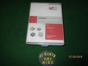New Wurth Elektronik We mapi Metal Alloy Power Inductor Kit 7443833 Version 2 0