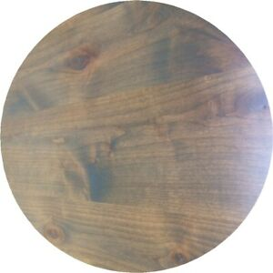 Distressed Table Top30 Round Rustic Or Soft Urban Restaurant Furniture Table Top