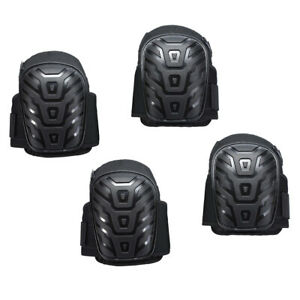 4x Professional Heavy Duty Work Knee Pad Gel Cushion Construction Adjustable