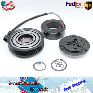 Ac Compressor Clutch Assembly Kit Coil Pulley Fit For 1994 2002 Dodge Dakota A C