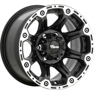 4 New 18x8 5 Dick Cepek Torque Black Wheels Rims 20 5x5 00