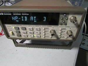 Hp Agilent 53131a 030 Frequency Counter 3ghz 10 Digit Option 030