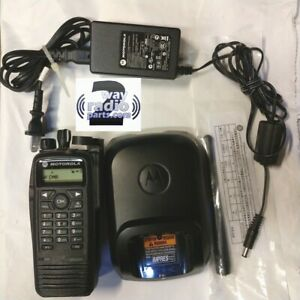 Motorola Mototrbo Uhf Xpr6550 Ht Radio 403 470 Mhz With Impres Charger Nice