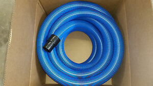 Carpet Cleaning Vacuum Hose 50ft 2 With Cuffs New High Pressure Quantity
