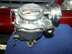Vintage Chevy Carburetor Rat Rod Rochester 1 Barrel Model Bv 1963 To 1967 Chevy
