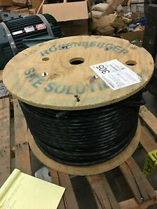 635 Rosenberger Sheilded Cable 8awg6 Conductor Tinned Copper Braid