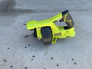 Ryobi P4001 18v 18 volt One Drain Auger Pipe Snake Sewer Cleaner tool Only