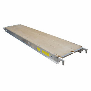 Aluminum Plank Plywood Deck 10 Ft Walkboard 19 X 10 50 Lbs Per Sq Ft