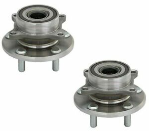 2 New Front Set Wheel Bearing Hub Assembly For 11 12 13 14 15 16 17 Odyssey