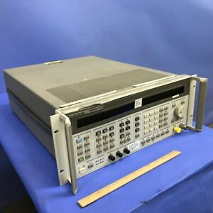 Hp Agilent 8665a 0 1 4200 Mhz Synthesized Sweeper Signal Generator Opt001