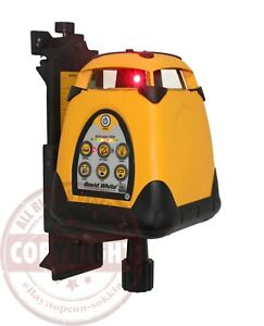 David White 3150 Self leveling Rotary Laser Level topcon spectra hilti dewalt