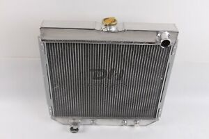 3row Aluminum Radiator Fit 1967 70 Ford Fairlane Falcon Maverick Mustang 20 Core