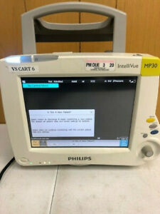 Philips Intellivue Mp30 Touch Screen Patient Monitor M8002a
