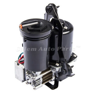Air Suspension For Lincoln Town Car Air Compressor Ford Crown Victoria W Dryer