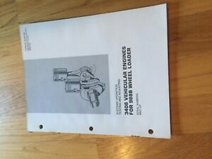 Cat 988b Wheel Loader 988 Tractor 3408 Diesel Engine Service Manual Antique
