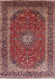 Oriental Traditional Wool Handmade Floral One Of A Kind Persian Area Rug 9 X 12