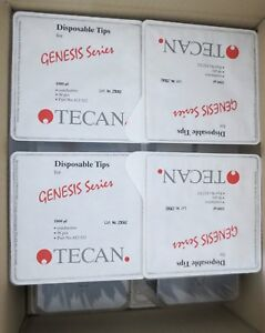 20 Racks Tecan Genesis 1000 l Conductive Disposable Pipette Tips 612512 Pipet