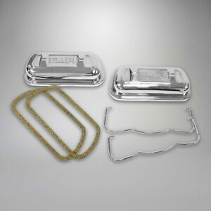 1961 1979 Vw T2 Ghia Beelte T3 Stainless Steel Valve Covers 1200cc 1600cc 323289