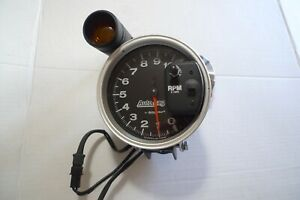 Auto Meter Tachometer Auto Gage 0 10 000 Rpm 4 3 4 With Shift Light