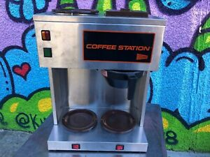 Cecilware Cs3awt Auto 12 Cup Coffee Brewer 3 Warmer 120v For Low Water Pressure