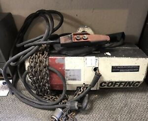 Coffing 1ton Electric Chain Hoist Local Pick Up Only