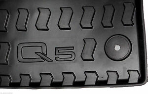 2009 To 2017 Audi Q5 Genuine Factory Oem Accessory Front Rubber Floor Mats