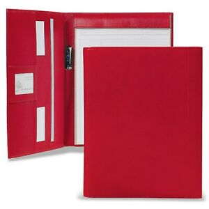 Levenger Leather Tyler Folio Red Letter al8775 93