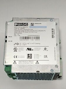 New Phoenix Contact Power Supply Quint ps 1ac 48vdc 10 Din Rail Mount