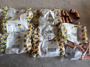 Propress Fittings Viega 51 Pieces Lot Free Priority M Shipping