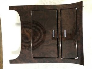 Cadillac Escalade Cupholder Center Console Bezel Wood Trim Cup Ash Tray Brown