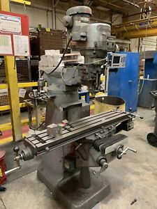2hp Bridgeport Vertical Mill 2 Available Very Good Condition